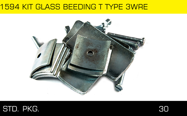 1594 KIT GLASS BEEDING T TYPE 3WRE