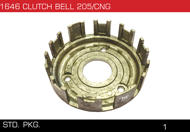 1646 CLUTCH BELL 205 CNG