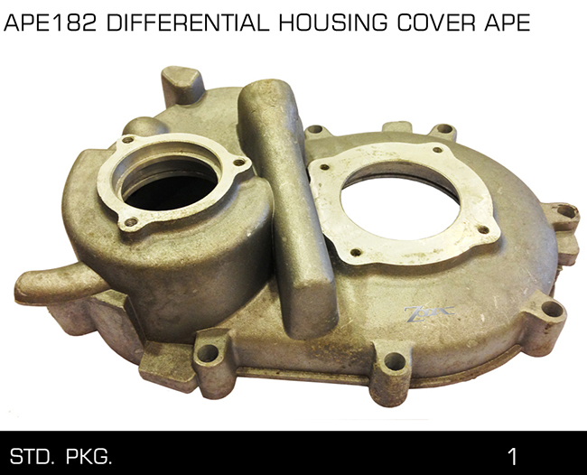 APE182 DIFFERENTIAL HOUSING COVER APE