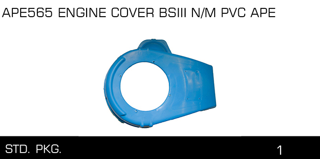 APE565 ENGINE COVER BSIII N M PVC APE