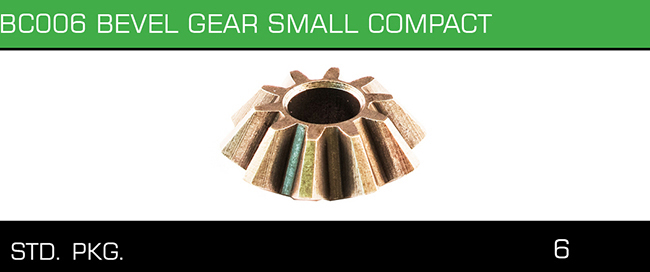 BC006 BEVEL GEAR SMALL COMPACT