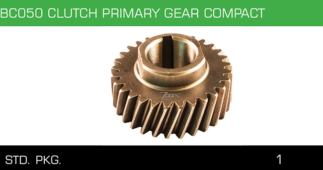 BC050 CLUTCH PRIMARY GEAR COMPACT