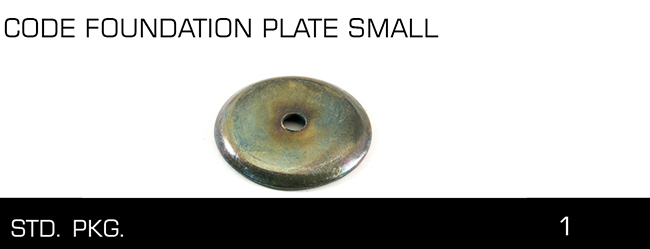 CODE FOUNDATION PLATE SMALL