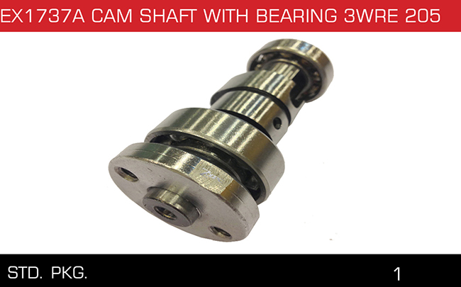 EX1737A CAM SHAFT WITH BEARING 3WRE 205