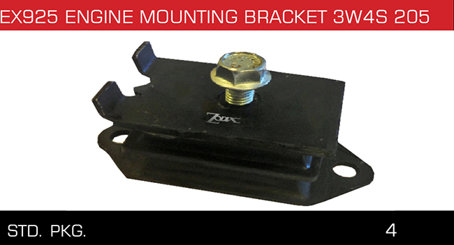 ENGINE MOUNTING BRACKET 3W4S 205