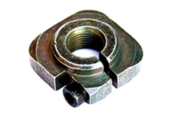AXLE NUT FRONT SQUARE RE205